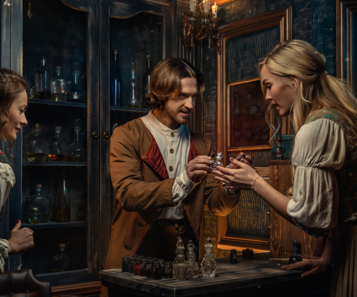 Perfumer escape room by QUEST ROOM - the most immersive escape rooms in Los Angeles
