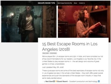 15 Best Escape Rooms in Los Angeles (2018)