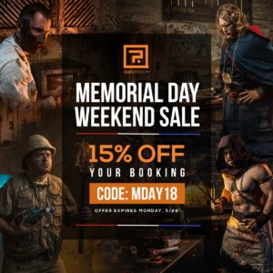 Memorial Day Weekend 2018 - Quest Room Offer