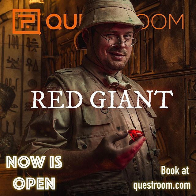 🔥🔥🔥 We've been waiting for this for so long! Today we are open a Red Giant escape room. Come and enjoy the new experience! . . . . . #losangelescity #losangeleslife #losangelesevents #losangelesca #puzzleroom #teambuilding #escaped #escaptheroom #roomescape #roomescapela #weekends #entertainment #santamonica #escaperoom#news#new#game#story#friends#team#losangeles#la#quest#puzzle#play#weekend #iescaped #losangelesescaperooms #questroomla #questroom