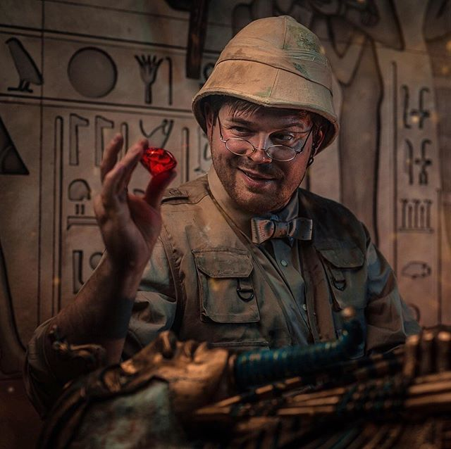 The Red Giant. A huge ruby rests in the depths of the Egyptian tomb. It was hidden behind the ancient paths and deadly traps. Desirable artifact for many private collectors ... or greedy archaeologists. . . . . . #escaperoom #escaperooms #escaperoomla #escaperoomgame #losangelescity #losangeleslife #losangelesevents #losangelesca #puzzleroom #teambuilding #escaped #escaptheroom #roomescape #roomescapela #weekends #entertainment #news#new#team#losangeles#la#quest#puzzle #play #iescaped #losangelesescaperooms #laescaperoom #losangelesescaperoom #questroomla #questroom